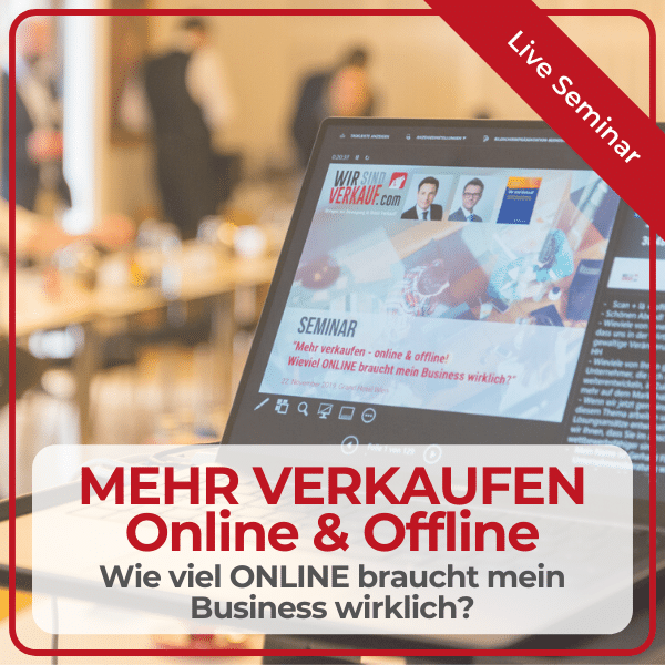 Seminar Mehr verkaufen - Online & Offline