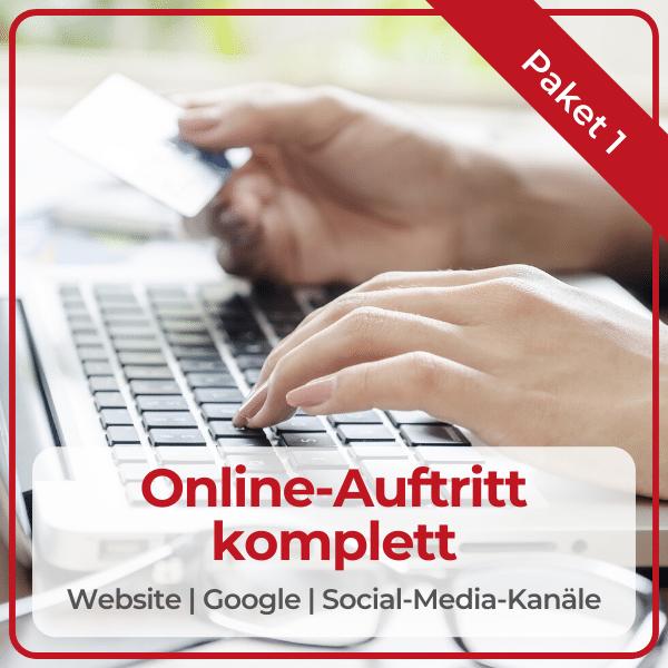 """Paket """"Online-Auftritt-komplett"""""""