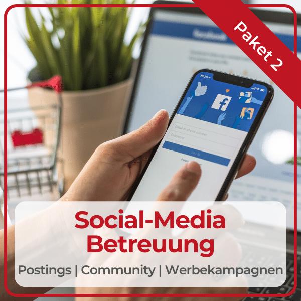 "Paket ""Social-Media-Betreuung"""