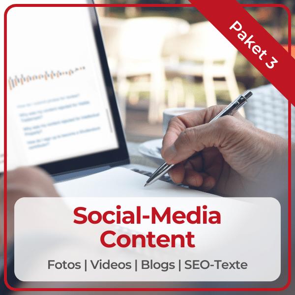 """Paket 3 """"Social-Media-Content"""""""